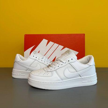 Мужские и женские кроссовки Nike Air Force 1 All White