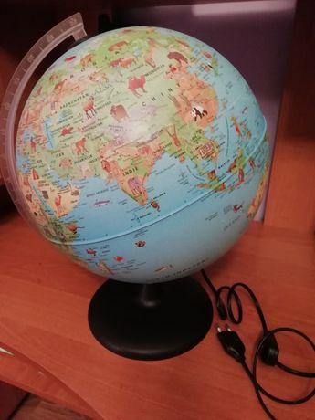 Lampka-globus dla dzieci