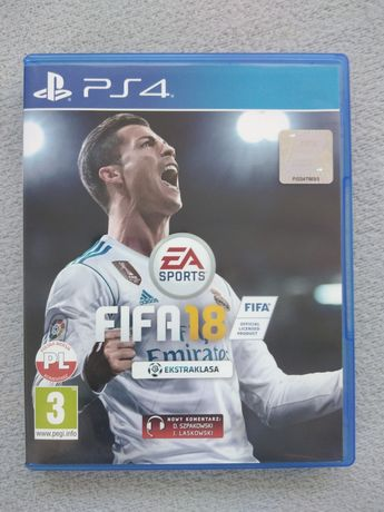 Gra FIFA 18 na PS4