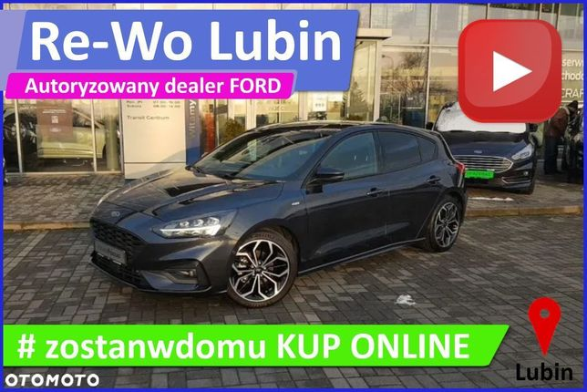 Ford Focus ST line, 1.0 EcoBoost 125 KM (z ASS) , M6