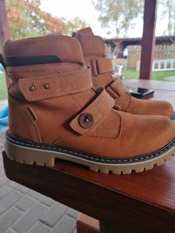 Buty zimowe, trapery chłopięce