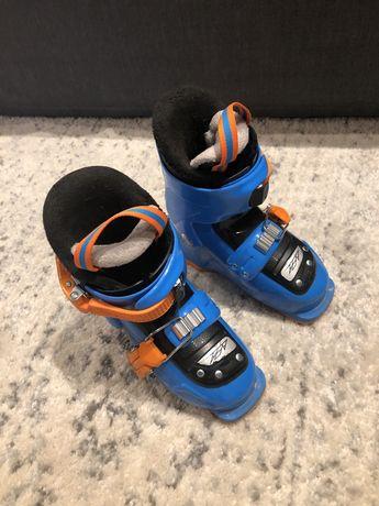 Buty narciarskie tecnica niebieskie dla chlopca 16.5 cm