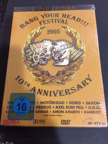 Bang Your Head!!! Festival 2005 2DVD Edition - Doro, Saxon, Tankard...