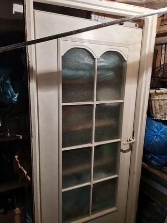 Oddam za darmo framuga stalowa 210x90 plus drzwi 200x80