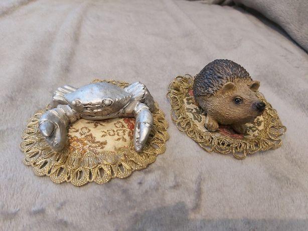 Figurki krab I jeż