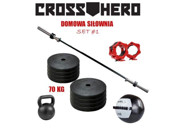 Zestaw sprzętu do domowej siłowni CrossFit #1