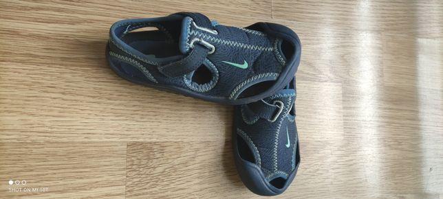 Sandałki Nike niebieskie