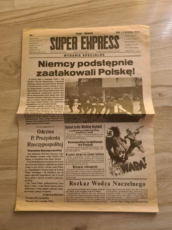 SUPER EXPRES z 01.09.1939r