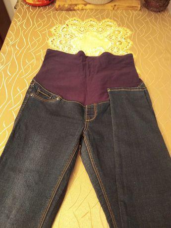Spodnie ciążowe trzy pary.