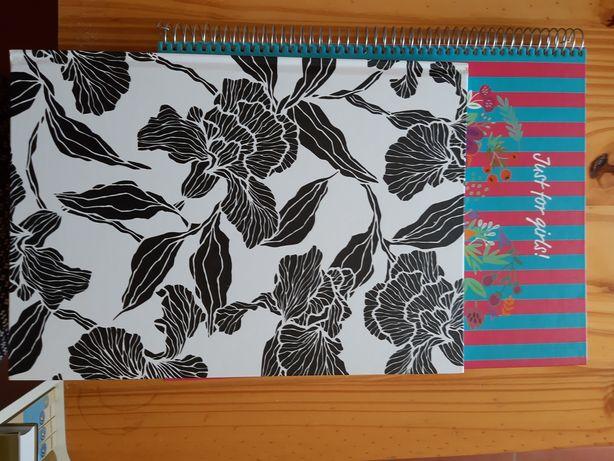 Cadernos florais