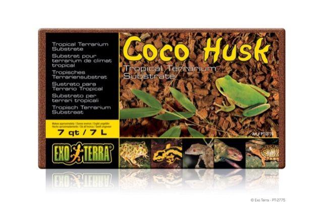 Exo Terra Coco Husk- Łupiny kokosowe 500g/7L - Małe ZOO Płaskowickiej