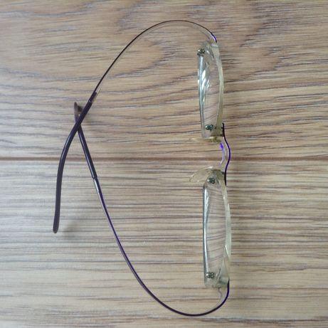przeźroczyste okulary korekcyjne/ramki