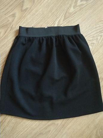Черная юбка для девочки- подростка