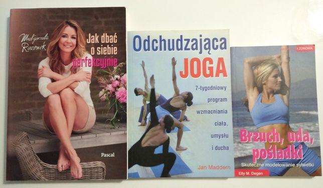 Książki Odchudzająca joga, Modelowanie sylwetki, Rozenek