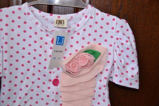 новий костюмчик плаття для дівчинки на 2 рочки, / новое платье на 2 г