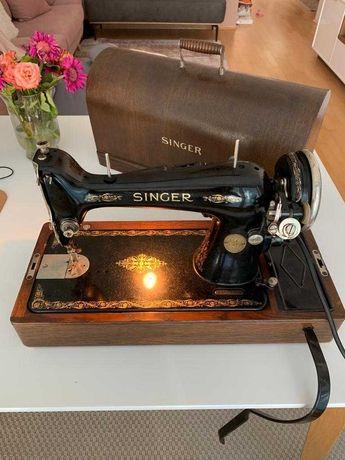 SINGER Maquina de costura - A funcionar