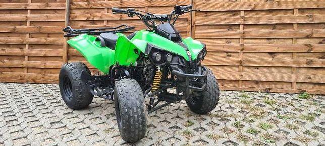 Quad ATV BOMBARDIER 125cm  Duża rama Automat Koła 8 cali