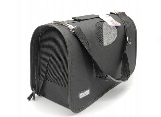 torba nr 3 transporter XL 53x30x25 cm czarny new dla kota psa