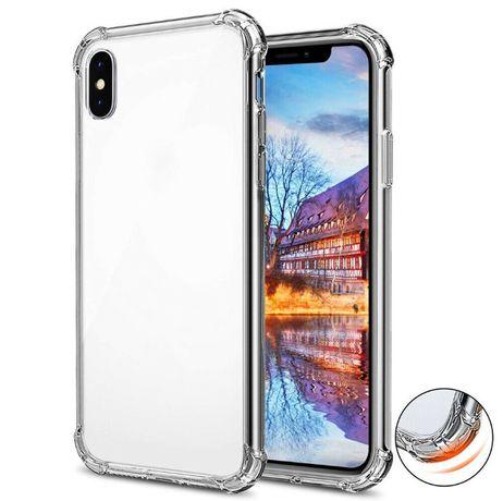 Z502 Capa Anti-choque Silicone Transparente iPhone XS MAX