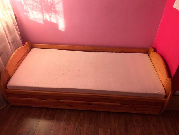 Łóżko z materacem 90x200
