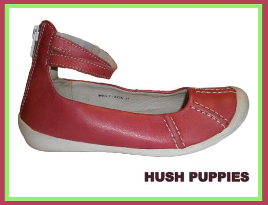 Кожаные туфли, балетки HUSH PUPPIES 31 размер