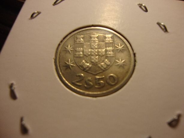 Moeda 2$50 Cupro-Níquel 1966
