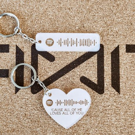 Porta chaves Spotify