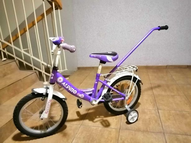 """Rowerek dziecięcy Jeeny Alpino Fioletowy 16"""""""