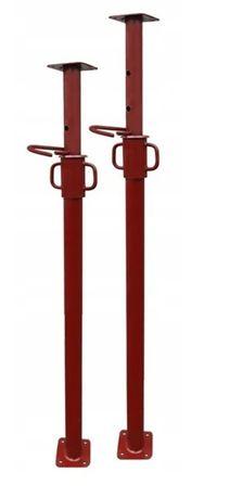 Stemple metalowe regulowane podpory stropowe