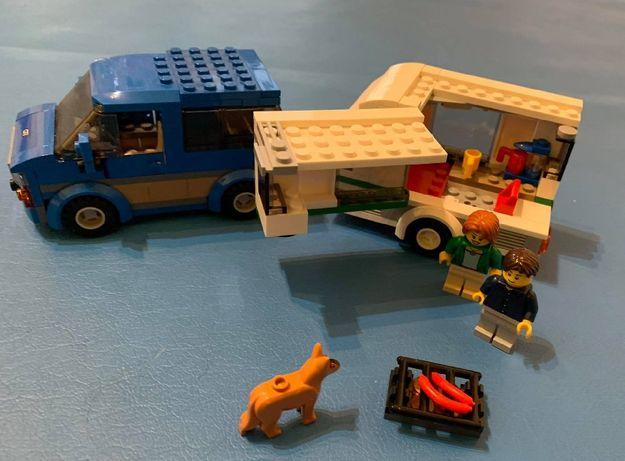 Lego 60117 Van z przyczepą kempingową