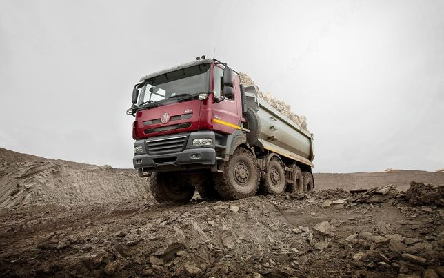 Дocтaвка c кapьeрa от 25 тонн Шлак, Отсев, Песок, Щебень. от 25 тонн