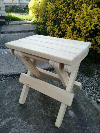 Стульчик деревяный раскладной