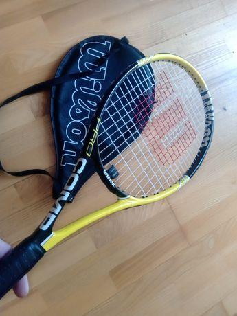 Тенісна ракетка (великий теніс)