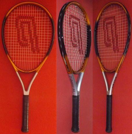 Rakieta do tenisa ziemnego PRO'S PRO T-JUNIOR 66 - Grafit + pokrowiec