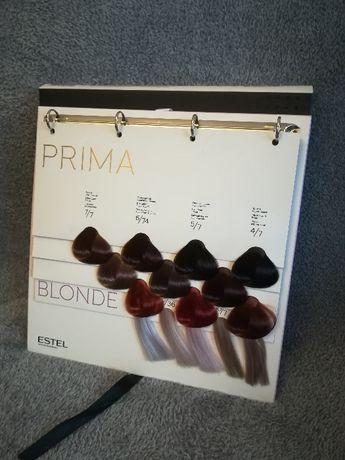 E s t e l   karta kolorów 3w1 Prima, Prima Blond i Alpha Homme