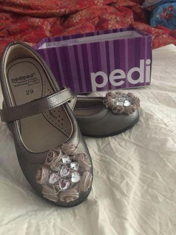 Туфельки осень-весна на девочку PediPed 29 размер