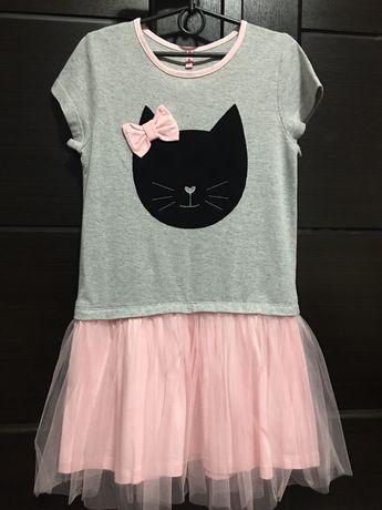Продам новое платье для девочки. 134-140 см