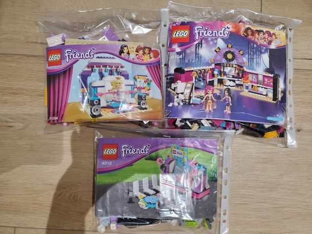 LEGO Friends гримерная, подиум, репетиция(41104, 41004 40112,