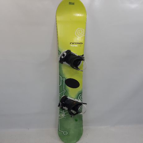 deska snowboardowa NITRO+wiązanie / 154