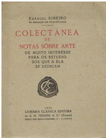 8907 Colectânea de Notas Sobre Arte