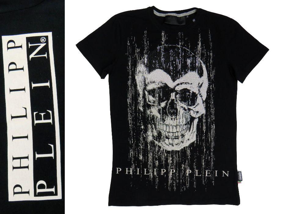 Philipp Plein T-shirt z motywem czaszki koszulka r M -70% Oleksianka - image 1