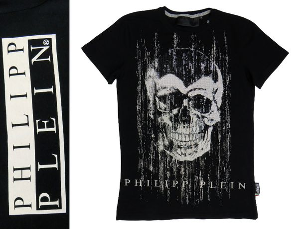 Philipp Plein T-shirt z motywem czaszki koszulka r M -70%