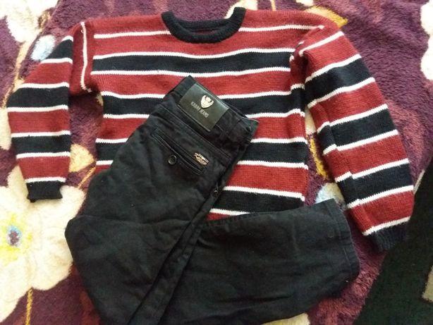 Штаны брюки джинсы на мальчика 6 - 7 лет