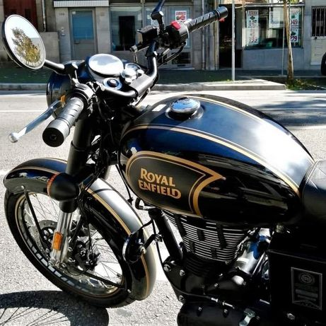 Royal Enfield Tribute Black clássic 500