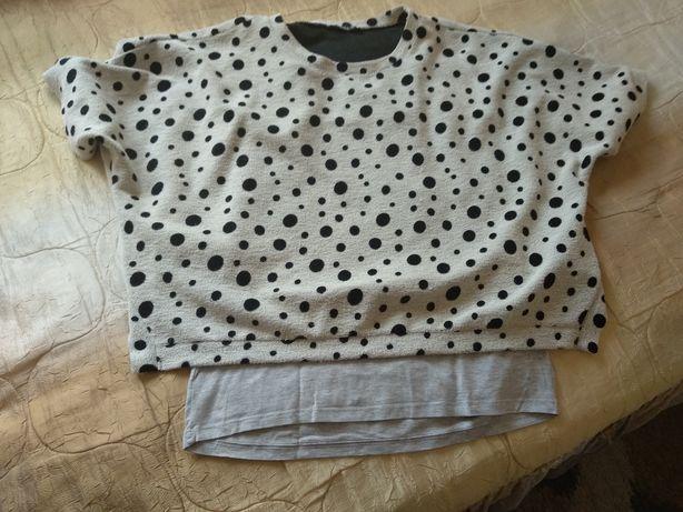 Bluzka i podkoszulek ciążowy L/XL