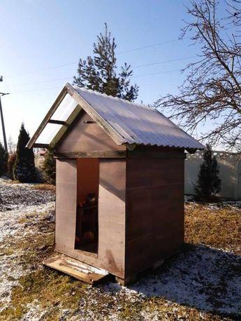 Domek  drewniany ogrodowy dla dzieci lub domek na narzędzia