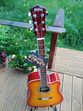 NOWA !! Washburn WA90CETS-W gitara elektroakustyczna z opakowaniem !!