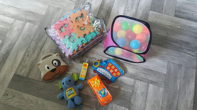 Zabawki zestaw różne
