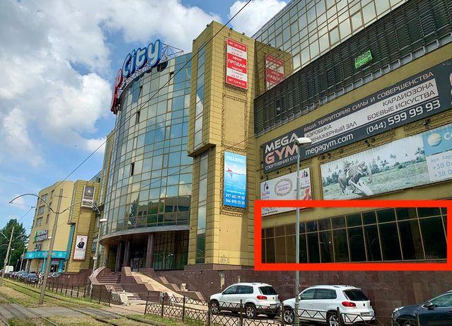 """Продам фасадне торговельне приміщення ТЦ""""Mega City"""" Харківське шосе"""