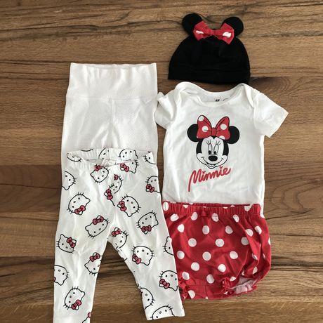 Komplet Minnie + 2x spodnie